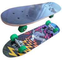 2406SB-3VC4828A chinese maple wooden four wheel kid nice design mini skateboard