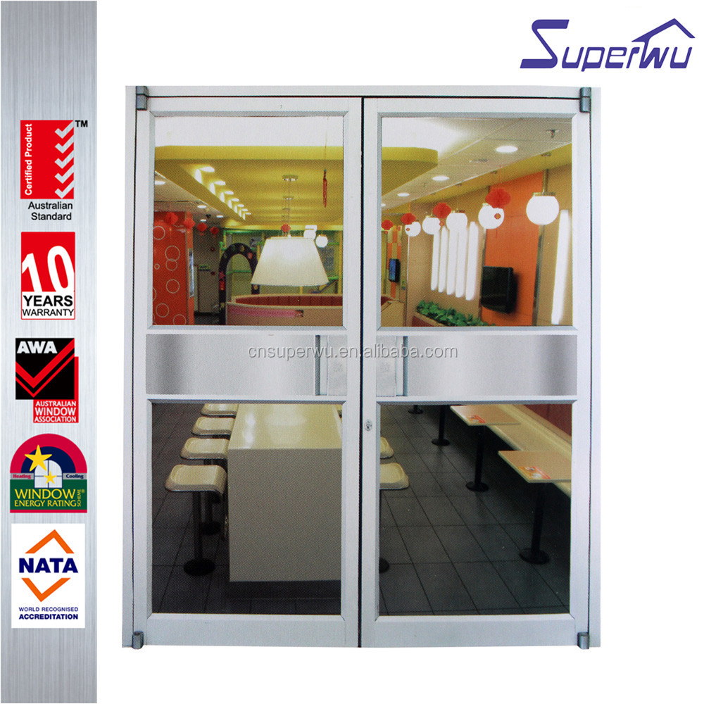 China suppliers modern glass thermal break australia interior office casement doors from Shanghai