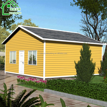 modern low cost color steel pre fab house/ prefabricated homes/Prefab Duplex Homes