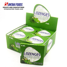 NEW PRODUCT!!! Eucalyptus flavor Lozenges strong mint candy