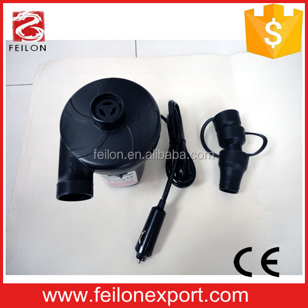 two-ways use factory sell car air pump 12v CE approved 75w electronic pumps
