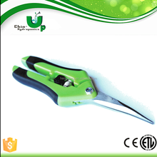 Best price superior quality stainless steel plant scissor/Garden Cutting Scissor/pruning shears wooden handle