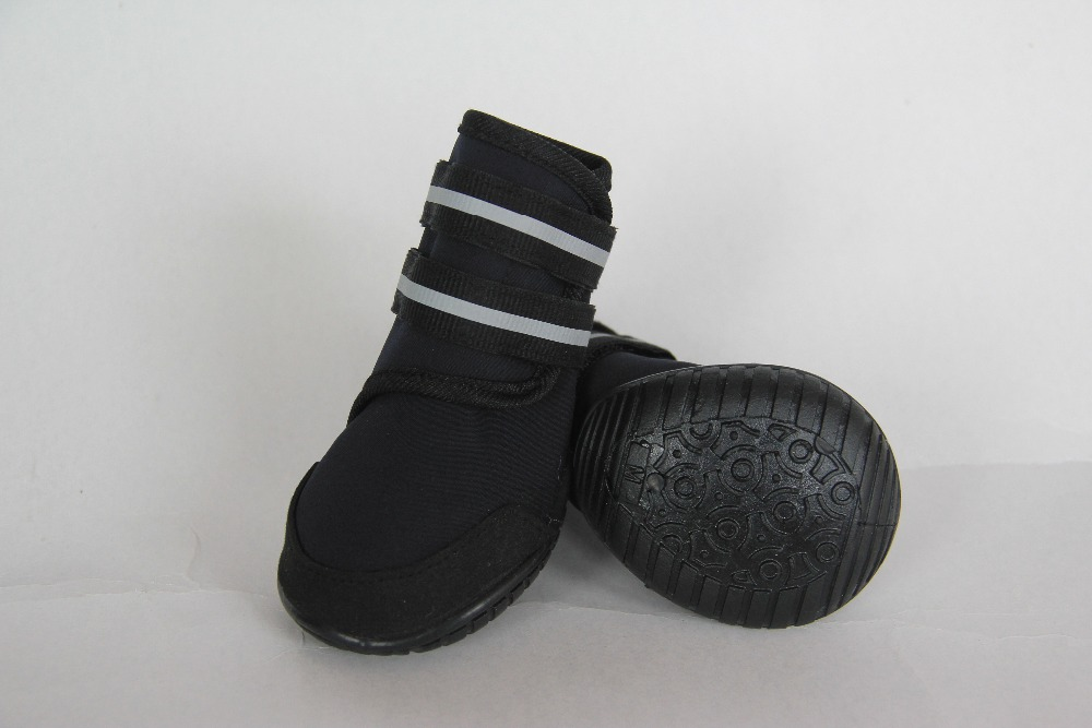convenient Autumn Winter Large Dog Shoes AntiSlip Waterproof cheap Pet Boots for Small Big Dog Shoes