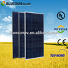 Buy 310wp BlueSun poly 310w paneles solar good quality cheap pv solar panel for india market