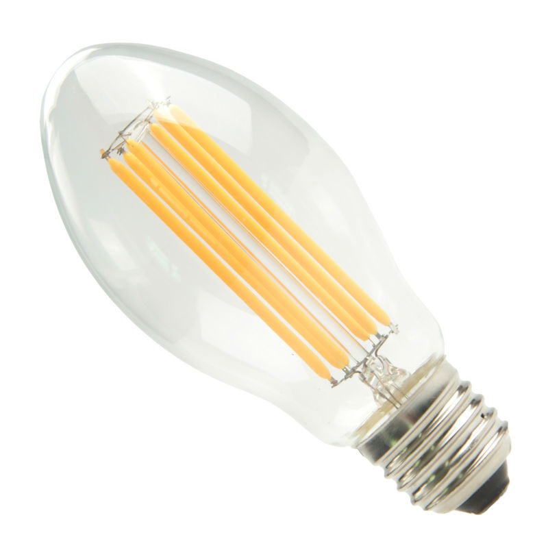 MANOLED LED E27 Filament Candle Light Bulb Clear Glass Warm White C55 DP3002-0012