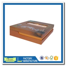 custom luxury handmade genuine leather gift packaging box