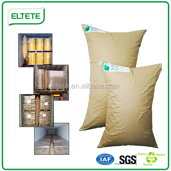 humidity resistant pallet protector air dunnage bag for void fill
