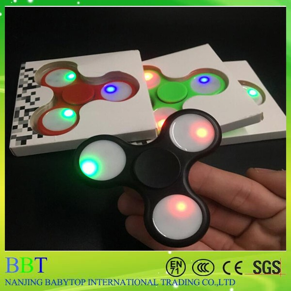 Hot Selling Products Fidget Spinners With Led Lights Metal