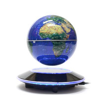 Magnetic Levitation Floating Globe Rotating World Map for Educational Gift Home Office Classroom Desk Dec