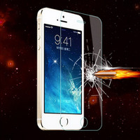 Hot sale for iphone 5/5S screen protective glass film /tempered glass protective film For iphone 5/5s