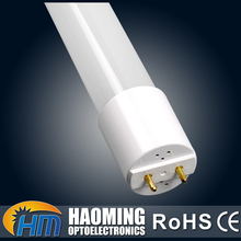 Accept OEM 600mm 9w glass clear cover 6000K CCC CE ROHS T8 4ft led tube light fixture