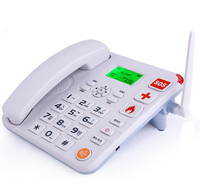 Desk sim card LCD display wireless gsm telephone
