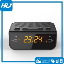 Digital time clock, am fm radio clock, table alarm clock