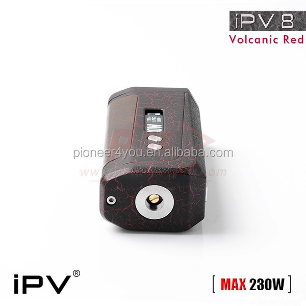 stock ipv8 Black TC VW Variable Wattage 230W Box Mod IPV8