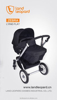 2016 black color new arrivals baby pushchairs with rain cover easy to hang out, the first safety baby pushchairs in Xiamen