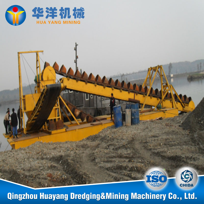 china gold mining dredger machine,50 m3 bucket gold dredge for sale