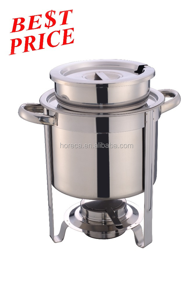 hot sale economy soup tureen food warmer stainless steel chafing dish - Soup Warmer