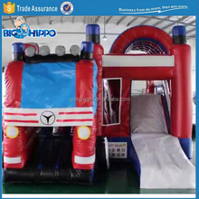 Inflatable Fire Engine Slide Combos