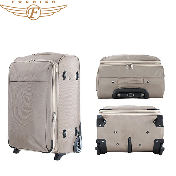 Spinner Polyester Luggage Large Suitcase