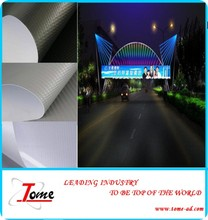 High Glossy Polyester Blockout Banner Material For Exhibition Booth Decoration , Inkjet PVC Flex Banner