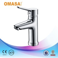 Made in China single zin handle chrome basin faucet