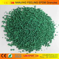 HOT !! epdm rubber raw material, epdm rubber granule,rubber crumb, powder, runway, synthetic grass for professional FN-R-1403647