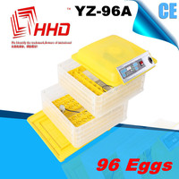 YZ-96A hot sale with CE certificate wholesale quail eggs incubator USA for sale