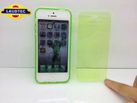 New TPU Flip Cover for IPhone 5, tpu wallet style case for iphone 5