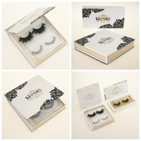 3D Mink Eyelashes With Custom Package Magnetic Boxes