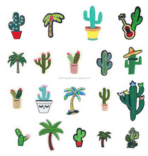 Iron on Patches or Sew on Patches Cactus Fun Assorted Size Iron On Embroidered Motif Applique Decoration Patches DIY