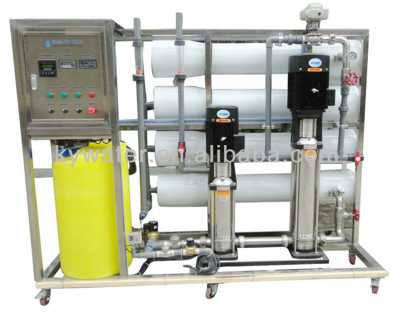 CE Approved KYRO-1500 ro water purifying plant/equipment with UV filter system