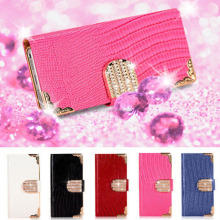 Fashion Luxury Bling Leather Diamond Flip Wallet Case Cover For Samsung Galaxy S3 S4 S5