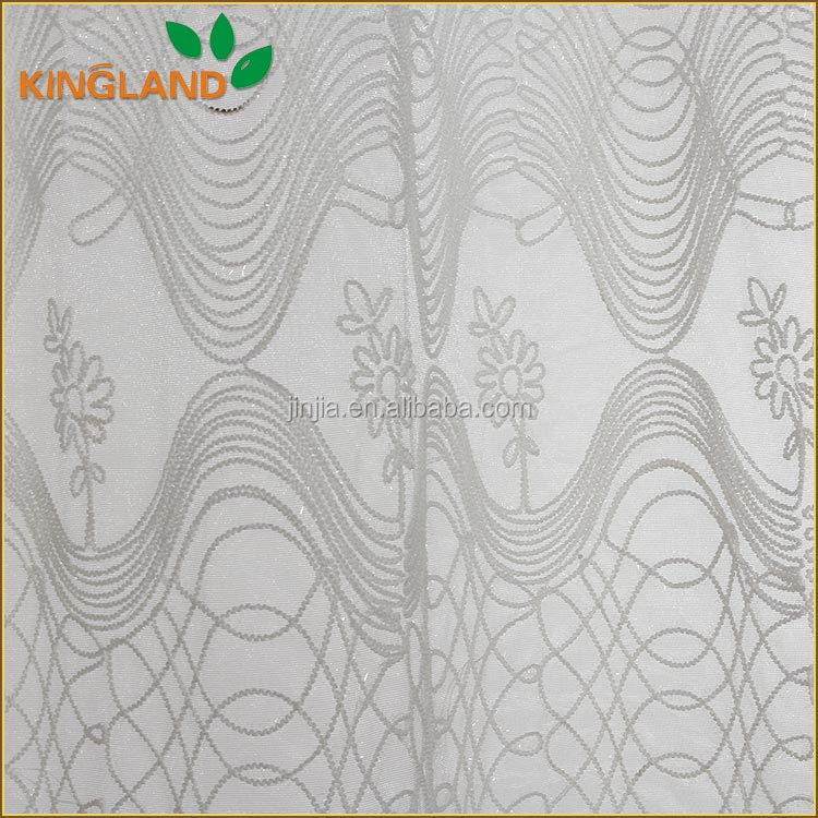 Worth buying mesh metalic rope embroidery curtain fabric india