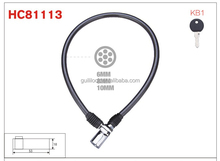 HC81113 anti-theft stroller bike oem cable lock
