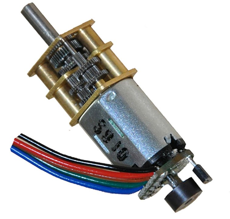 GM12-N20VA 5v dc motor With Encoder of low rpm motor with high torque