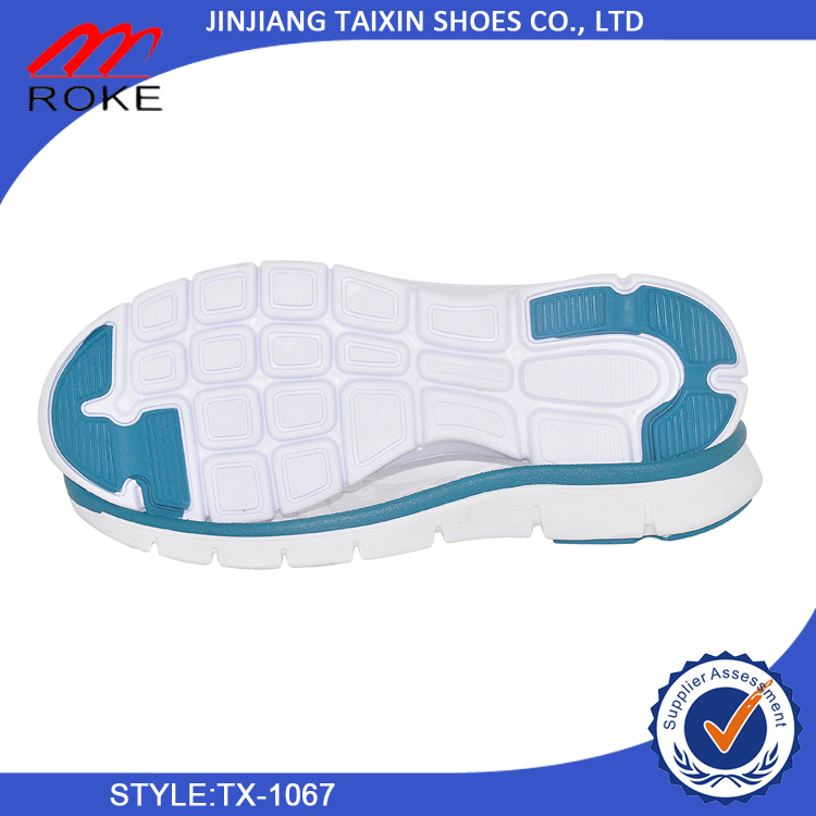 China Factory selling shoe sole durable EVA TPR MD sneaker outsole