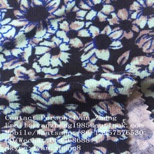Shaoxing Chuangcai Textile Polyester Angora Spandex Jersey Zebra Printed Sweater Knit Fabric