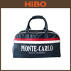 wholesale nylon and pu leather custom made gym duffle bag men