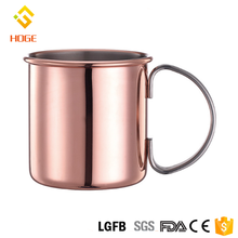 Personalized Moscow Mule Mug 16 Oz Stainless Steel Gin Copper Mug With Copper Plating