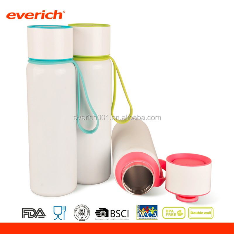 Double Wall Vacuum Insulated Sports Thermo Water Bottle