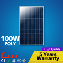 Polycrystalline outdoor IP65 12V 100W solar panel price