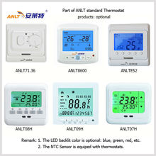 intelligent temperature controller for electric underfloor heating system