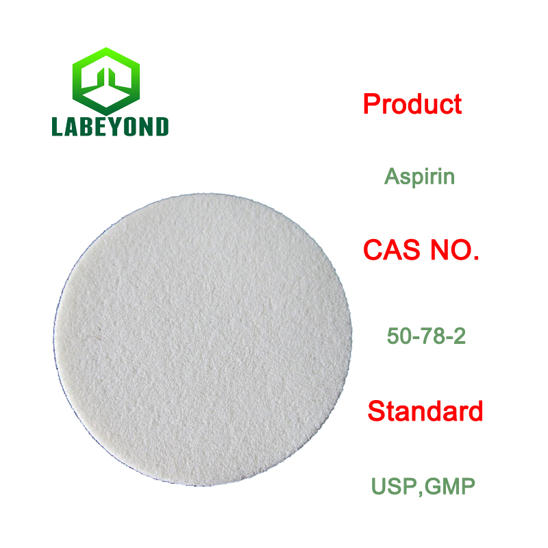 Factory supply Aspirin, CAS NO: 50-78-2