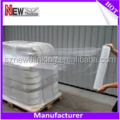PE pallet packaging flim/PE material film/heat shrink film