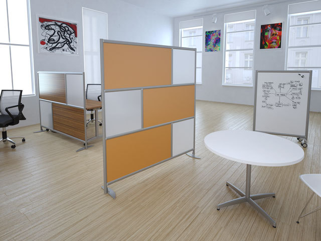 High quality partitions room dividers buy partitions room dividers removable wall partitions - The mobile office working on two wheels ...