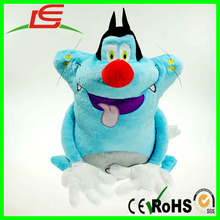 Wholesale 15in 38cm Oggy And The Cockroaches Fat Cats Stuffed Plush toy doll