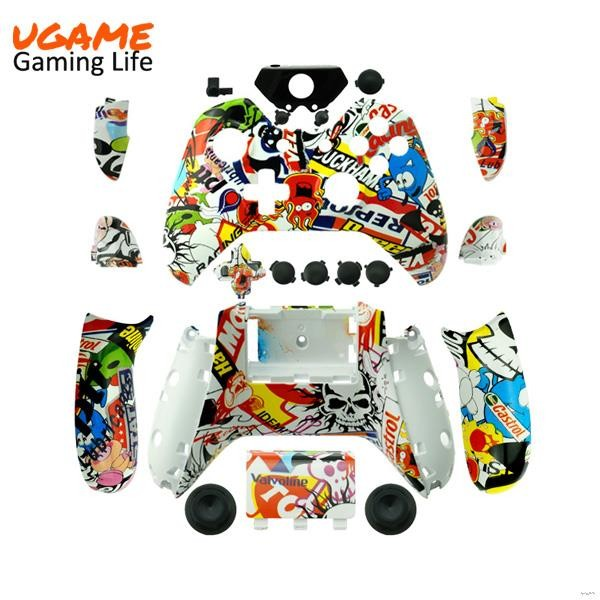 2016 Craze Hot selling stickerbomb for xbox one replacement shell
