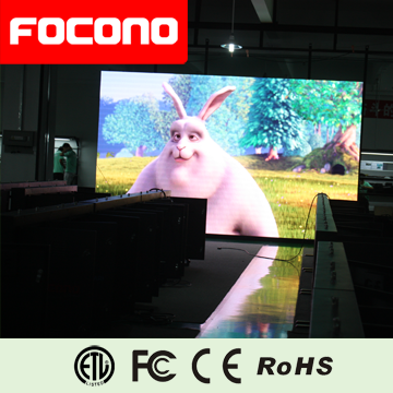 FOCONO Ultra-clear video led advertising indoor big screen tv for hall