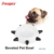 2019 new beveled pet bowl water bowl with rivet color variety cat and dog universal bowl