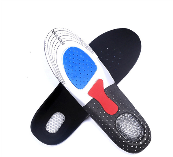 Unisex Orthotic Arch Support Sport Shoe Pad Sport Running Gel Insoles Insert Cushion for Men Women